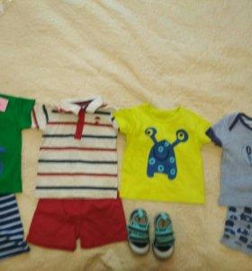 Комплекты для мальчика новые и бу 1-2 раза