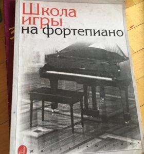 Книги для обучения и игры на фортепиано
