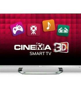 Телевизор LG Cinema 3D, 55 дюрьмов.