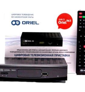 Oriel 963 цифровой ресивер DVB-T2