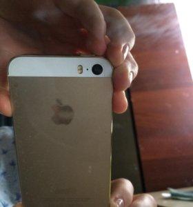 Айфон 5s 16 гб ,Gold(золотой)