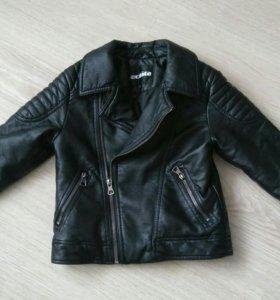Куртка-косуха Acoola кожзам на мальчика