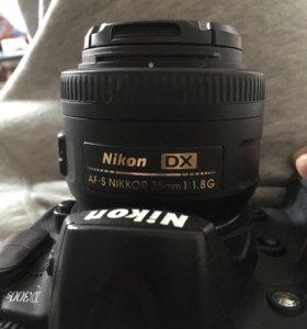 Обьектив Nikon 35mm 1.8 G AF-S DX