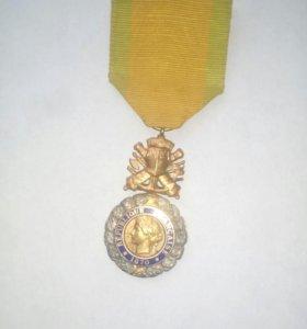 Военная медаль,серебро.1870 г
