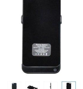 Чехол зарядка на iPhone 5/5s/5c