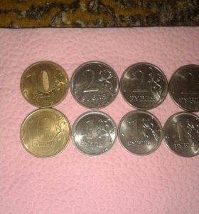 Монеты 2016года