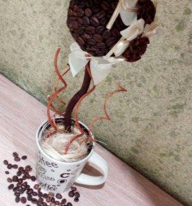 Топиарий кофейное настроение