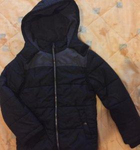 Куртка на 9-10лет мальчику НОВАЯ