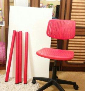 Стол и стул Икеа