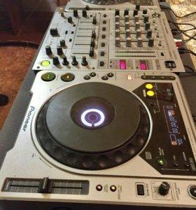 DG оборудование Pioneer DJM-600, CDG-800
