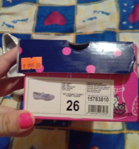 Продам новые туфельки для девочки