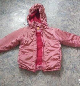 куртка весна на 4-5 лет