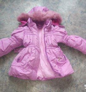 куртка зима на 6-7 лет