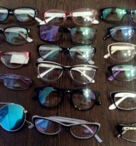 Очки,оправы,готовые очки,солнечные очки