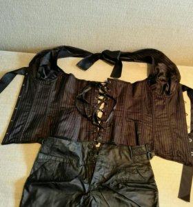 Корсет и шорты