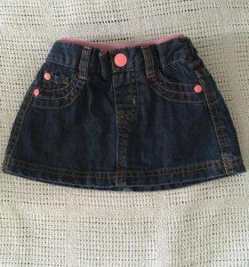 Юбка джинсовая Mothercare