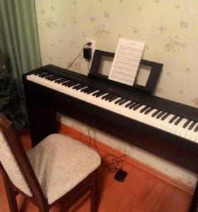 Цифровое пианино Yamaha P-45 + Стойка L-85