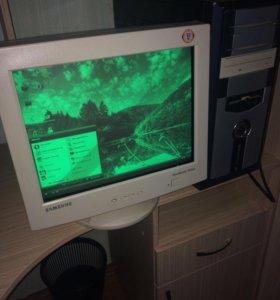 Системный блок+монитор (компьютер)