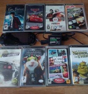 PSP + 30 игр.
