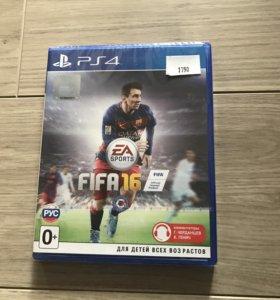 """Продам новый лицензионный диск """" FIF '16"""" для PS 4"""