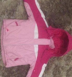 Детская демисезонная куртка размер 92