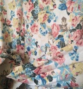 Чудесное платье с розами