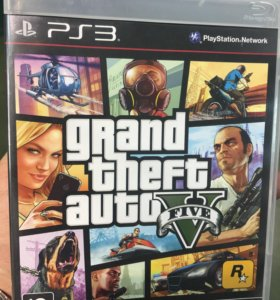 Игра GTA 5 для playstation 3