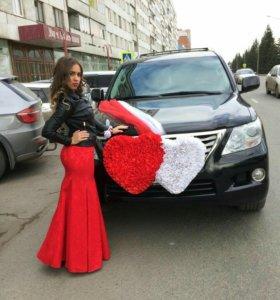 Украшение свадебное на машину