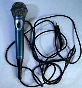Микрофон Philips для караоке