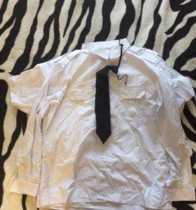 Форменные белые рубашки