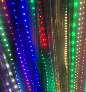 Светодиодная  гелевая лента-подсветка с пультом