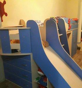 """Кровать детская """"Адмирал"""""""