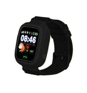 Детские умные часы Baby Watch Q80, черные