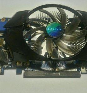 Видеокарта GIGABYTE GeForce GT 740 [GV-N740D5OC-1G