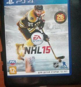 NHL15 для PS4