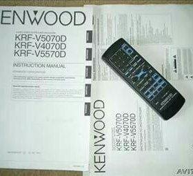 Av ресивер Kenwood krf-v4070d