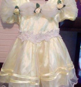 Платье 1-3 года