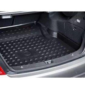 Коврик в багажник Мерседес-Бенц c купе c204.