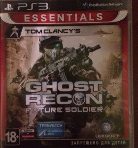 TOM CLANCY'S. GHOST RECON. FUTURE SOLDIER