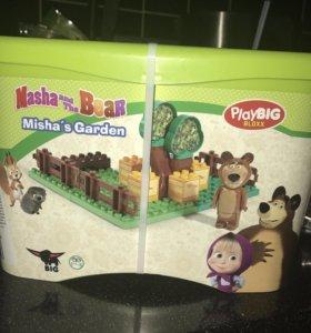 Конструктор Маша и медведь play big
