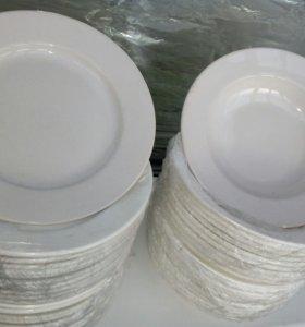 Тарелки креманки для кафе