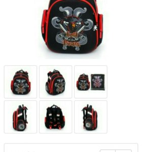 Новый ортопедический школьный рюкзак
