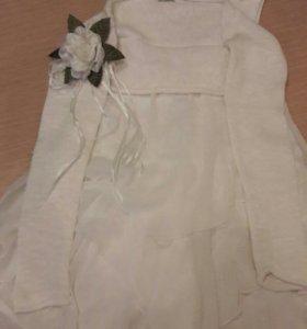 Платье нарядное с болеро