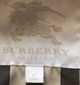 Куртка Burberry на девочку