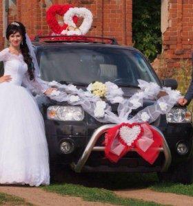 Свадебное платье  бу
