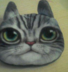 Кошелёк мордочка кота