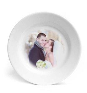 Тарелка с фото