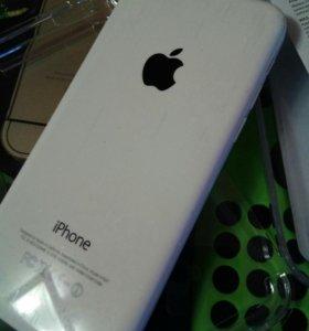 Apple iPhone 5c 8gb, 4g lte wite