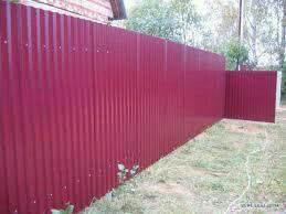 Забор. Установка, монтаж, демонтаж