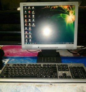 Пк + монитор+мышка+клавиатура